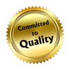 gold seal: Committed to Quality